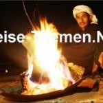 Sandlamm im Beduinenzelt