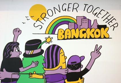 Bangkok Stronger together Kampagne, Copyright Karsten-Thilo Raab (4)