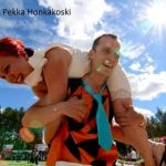 Aufgeschultert in Finnland: WM im Frauentragen