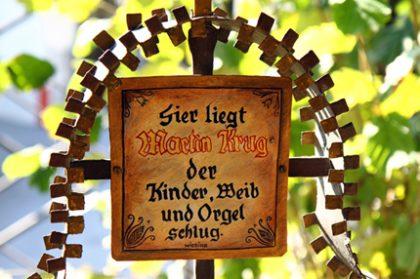 Grabkreuz auf dem Museumsfriedhof in Kramsach - Copyright Karsten-Thilo Raab