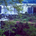 Die Wasserfälle am Foz do Iguacú