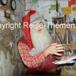 Zu Besuch beim Weihnachtsmann in Savalen