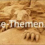 Sandskulpturen-Festival in Pêra
