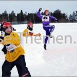 Schneeballschlacht-EM in Kemijärvi