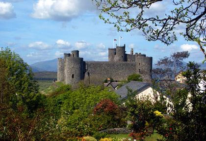 Harlech Castle - Copyright Karsten-Thilo Raab