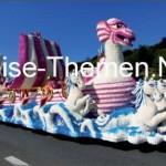 Blumenkarneval auf der Kanalinsel