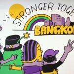 """""""Stronger together"""" – Bangkok lebt große Solidarität"""