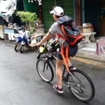Als Entenfamilie im Zickzack durch Bangkok