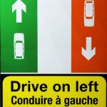 Rechts lenken, links fahren